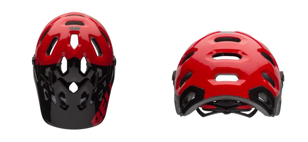 Bell Super 2 Helmet Design